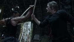 Oliver treinando com Slade