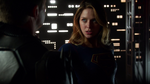 Supergirl defeating Master Jailer