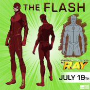 Arte de Flash em Freedom Fighters The Ray