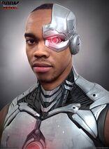 Doom Patrol - Cyborg Concept Art 2