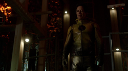 Eobard reveals his identity to Eddie