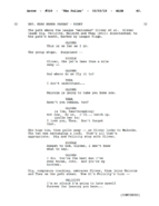 The Fallen script excerpt - page 40