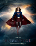 Supergirl season 3 poster - Flying Solo
