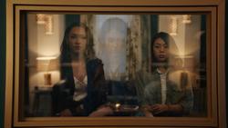 Eva commands Mirror Iris and Mirror Kamilla