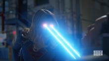 Supergirl cauterises William