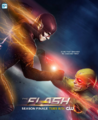 The Flash season 1 poster - Is he fast enough to change time?.png