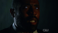 Jefferson Pierce's eyes light up