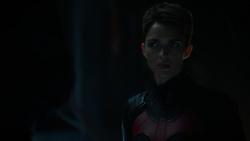 Kate após Lex Luthor substituir Clark Kent