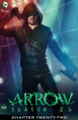 Arrow Season 2.5 chapter 22 digital cover.png