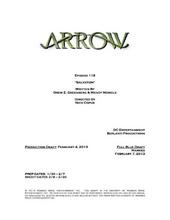 Arrow script title page - Salvation