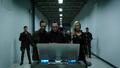 Cayden James, Sheck and Laurel Lance unlock the International Domain Name Directory Vault.png