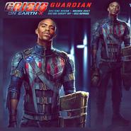 Guardián-X Concept Art
