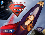 Adventures of Supergirl chapter 2 cover