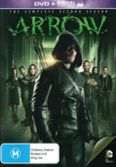 Arrow - The Complete Second Season region 4 cover