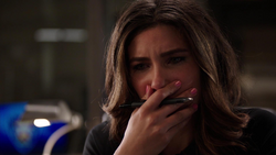 Dinah getting emotional after Laurel apologized