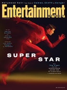 The Flash season 6 - Entertainment Weekly cover