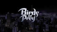 Birds of Prey title card