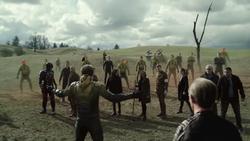 Eobard confrontando as Lendas