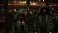 Oliver and Mia in the Bratva fight club