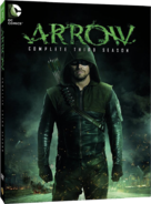 Arrow - Complete Third Season region 1 cover