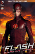 The Flash Season Zero chapter 21 digital cover