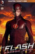 The Flash Season Zero chapter 21 digital cover