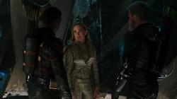 Sara, Connor e Oliver