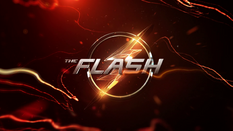 Title card da T6 de Flash (segunda metade)