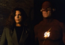 Megan and the Flash