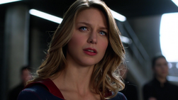 Music Meister affecting Kara Supergirl's eyes