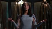 Rhea runs the wedding ceremony of Mon-El and Lena