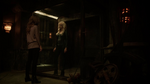 Caitlin and Killer Frost talk in Zoom's lair