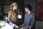Busy Ray Palmer and angry Felicity Smoak