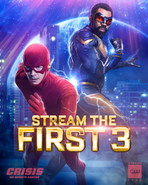 Crisis on Infinite Earths - Stream the first 3 promo 3