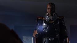 O Monitor com o corpo de Lex