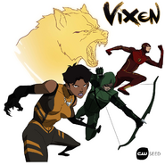 Vixen, Arrow y Flash - CWSeed