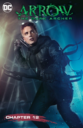 Arrow The Dark Archer chapter 12 digital cover