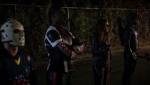 Team Arrow before they face Prometheus