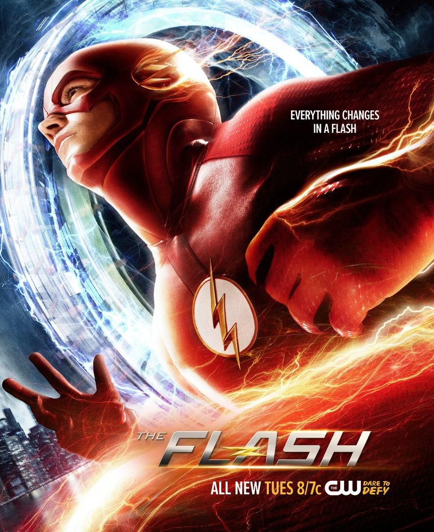 Uitzonderlijk Image - The Flash season 2 poster - Everything Changes in a Flash  @VQ29