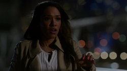 Iris West realizes Barry is the Flash