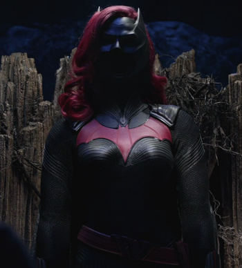 Traje de Batwoman