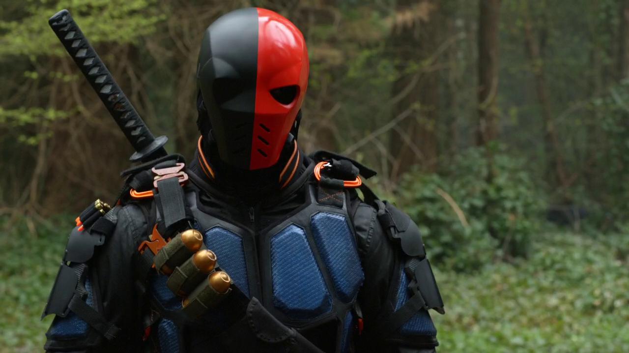 Upgraded suit & Deathstroke suits | Arrowverse Wiki | FANDOM powered by Wikia