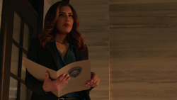 Dinah as the new captain of the SCPD