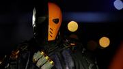 Deathstroke hijacks prison bus