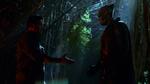 J'onn preparing to shake Jeremiah Danvers' hand