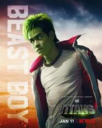 Titans Netflix - Chico Bestia