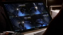 Barry Allen's team monitoring meta-humans in their cells