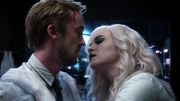 Broken kiss Julian and Killer Frost