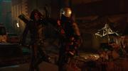 Grant Wilson alias Deathstroke fight on Green Arrows (8)