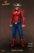 The Flash (Earth-3) concept artwork